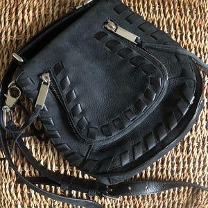 Rebecca Minkoff Black Leather Crossbody Purse